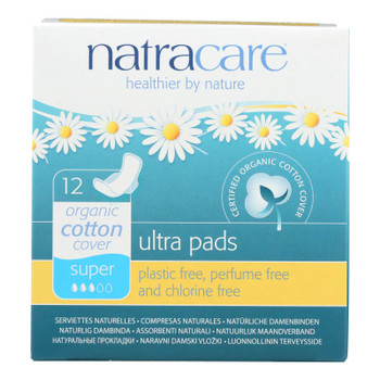 Natracare Organic & Natural Ultra Pads  - Case Of 12 - 12 Ct