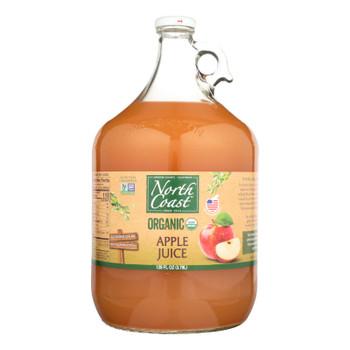 North Coast Organic Apple Juice  - Case Of 4 - 1 Gal
