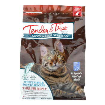 Tender & True Cat Food Ocean Whitefish And Potato  - Case Of 6 - 3 Lb