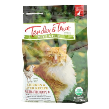 Tender & True Cat Food Chicken And Liver - Case Of 6 - 3 Lb