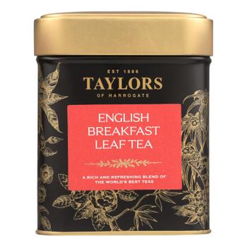 Taylors Of Harrogate English Breakfast Loose Leaf Tea - Case Of 6 - 4.4 Oz