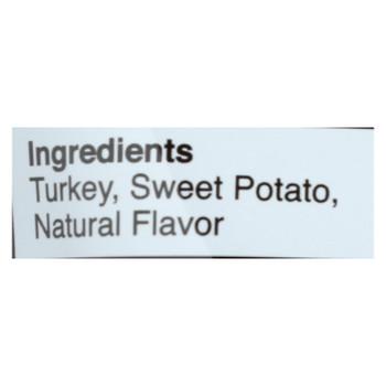 Fruitables Whole Jerky Bites Turkey & Sweet Potato Jerky  - Case Of 8 - 5 Oz