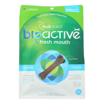 Fruitables - Dog Chews Sml Dntl Bioact - Case Of 8 - 7.3 Oz