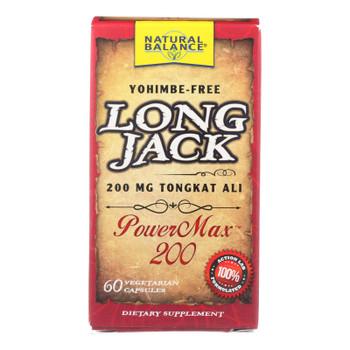 Natural Balance - Long Jack Powermax 200 - 1 Each - 60 Vcap