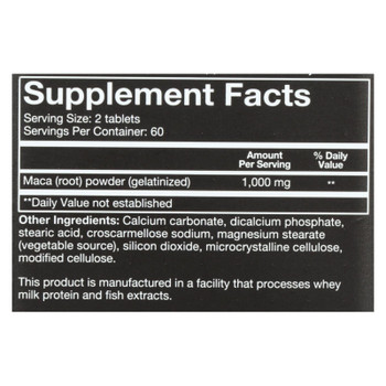 Youtheory Dietary Supplement Men's Maca  - 1 Each - 120 Tab