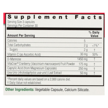 Nature's Answer Ut Answer Dietary Supplement  - 1 Each - 90 Vcap