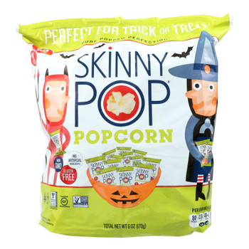 Skinny Pop Gluten Free Popcorn  - Case Of 6 - 6 Oz