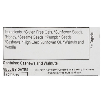 Grandy Oats - Granola Gluten Free - Case Of 10 - Lb