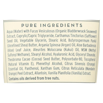 The Seaweed Bath Co - Body Cream Citrus Vanilla - 6 Oz