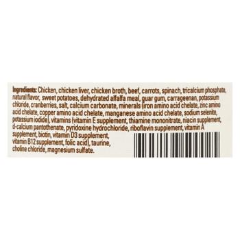 Halo Grain-free Indoor Cat Chicken & Beef Recipe Pate  - Case Of 12 - 5.5 Oz