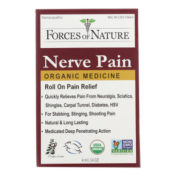 Forces Of Nature Nerve Pain Management Rollerball Activator Topical Medicine  - 1 Each - 4 Ml