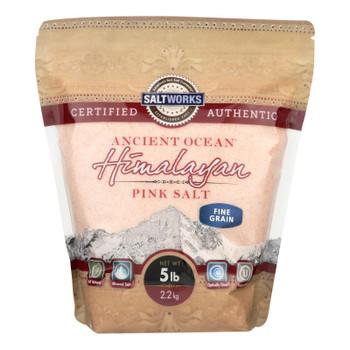 Saltworks - Salt Pink Himalayan Fine - 1 Each - 5 Lb
