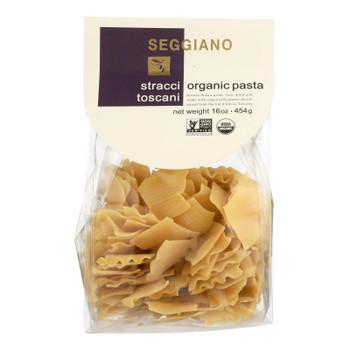Seggiano Organic Stracci Toscani Pasta  - Case Of 8 - 16 Oz