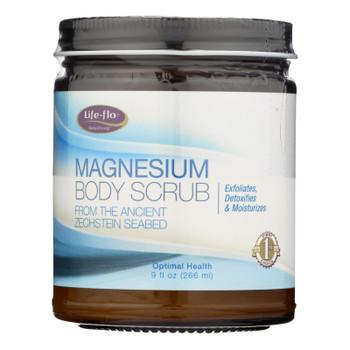 Life Flo - Magnesium Body Scrub - 1 Each - 9 Fz