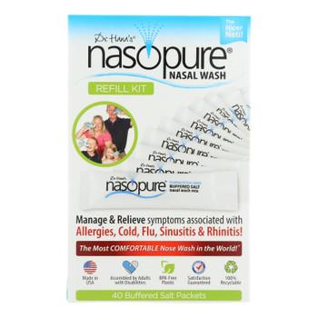 Dr. Hana's Nasopure Nasal Wash Refill Kit - 1 Each - 40 Ct