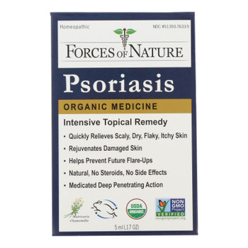 Forces Of Nature - Psoriasis Relief - 1 Each - 5 Ml