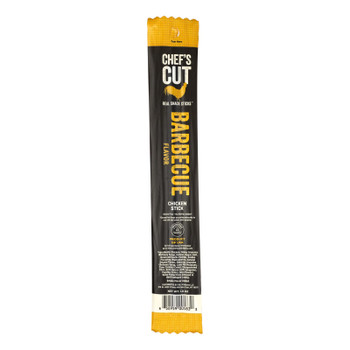 Chef's Cut Real Jerky Real Snack Sticks Barbecue  - Case Of 48 - 1 Oz