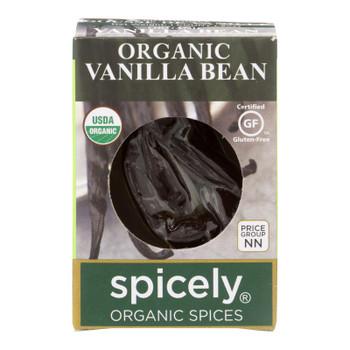 Spicely Organics - Vanilla Bean Og2 - Cs Of 6-.2 Oz