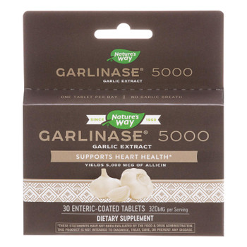 Enzymatic Therapy Garlinase 5000 Dietary Supplement  - 1 Each - 30 Tab