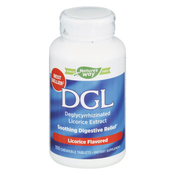 Enzymatic Therapy Dgl Chewable Digestion Tablets  - 1 Each - 100 Tab