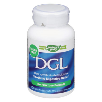 Enzymatic Therapy Dgl Soothing Digestive Relief Dietary Supplement  - 1 Each - 100 Tab