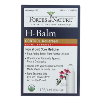 Forces Of Nature - H Balm Control Xs - 1 Each - 4 Ml