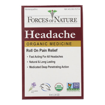 Forces Of Nature - Headache Pain Mngmt - 1 Each - 4 Ml