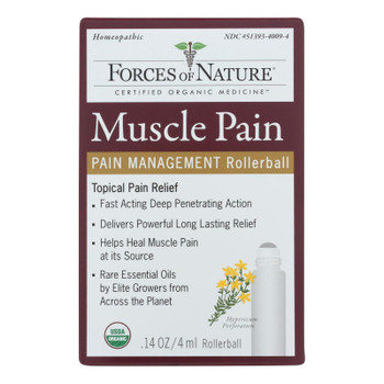 Forces Of Nature - Muscle Pain Management - 1 Each - 4 Ml