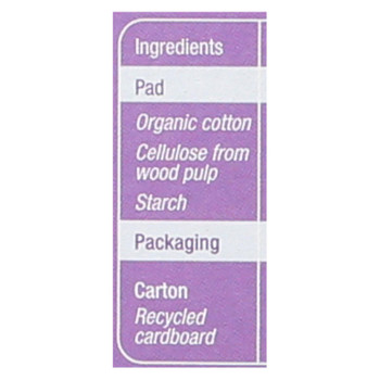 Natracare - Pads Dry&light Plus - 1 Each - 16 Ct