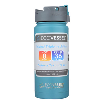 Ecovessel Perk Triple Insulated Coffee And Tea Mug  - Case Of 6 - 16 Oz