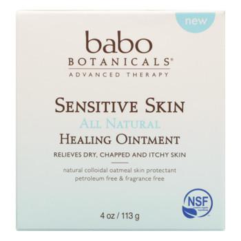 Babo Botanicals - Ontmnt Sensative Skin Fat Free - 1 Each - 4 Oz