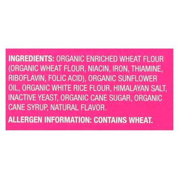 Miltons - Baked Crackers Hm Salt - Case Of 8 - 6 Oz