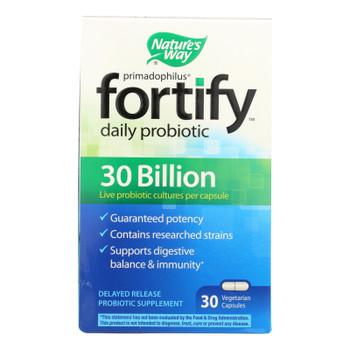 Nature's Way 30 Billion Probiotic Supplement  - 1 Each - 30 Vcap
