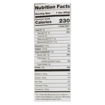 One's Almond Bliss Protein Bar - Case Of 12 - 60 Grm