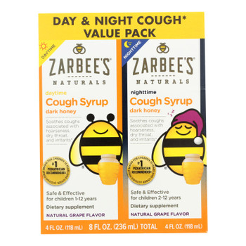 Zarbee's - Cough Syrup Twn Pck Day&n - 1 Each - 8 Fz