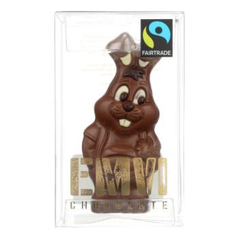 Evmi Chocolate The Fair Hunz Bunny Milk Chocolate Candy  - Case Of 9 - 3 Oz