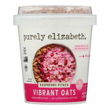 Purely Elizabeth - Vibrnt Oats Raspberry Pitaya - Case Of 12 - 2 Oz