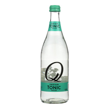 Q Drinks Indian Tonic Water - Case Of 6 - 16.9 Fz