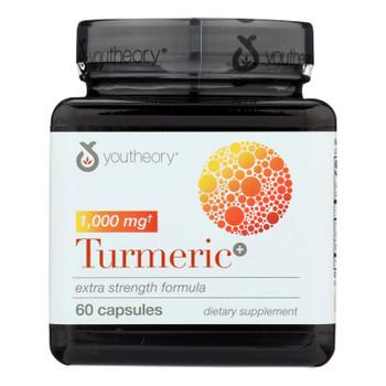 Youtheory - Tumeric Extra Strength - 1 Each - 60 Ct