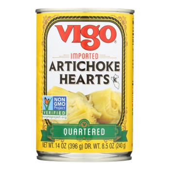 Vigo® Imported Artichoke Hearts - Case Of 12 - 14 Oz