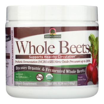 Nature's Answer - Whole Beets Powder Frmntd - 1 Each - 6.34 Oz
