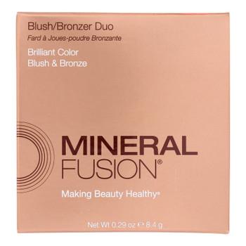 Mineral Fusion Minerals On A Mission Rio Blonzer Blush/bronzer Duo  - 1 Each - .29 Oz