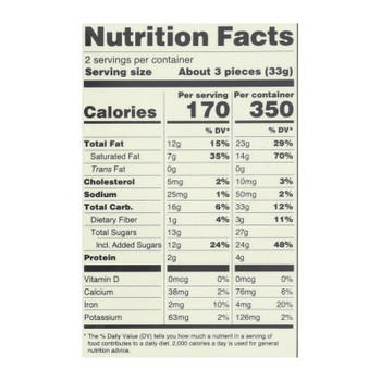 Lake Champlain Chocolates Milk & Dark Organic Chocolate Assortment  - Case Of 12 - 2.3 Oz
