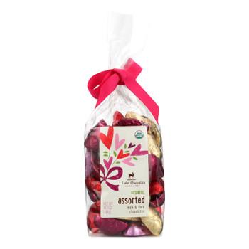Lake Champlain Chocolates Assorted Organic Milk & Dark Chocolates  - Case Of 12 - 10.1 Oz