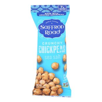 Saffron Road Crunchy Chickpeas - Case Of 10 - 1.25 Oz