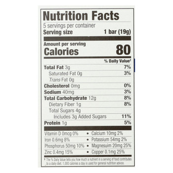 Plum Organics Plum Mighty Morning Tots Snacks Blueberry Lemon - Case Of 8 - 3.35 Oz