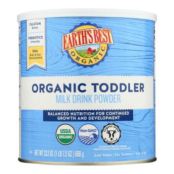 Earth's Best Organic Toddler Milk Drink Powder - Case Of 4 - 23.2 Oz
