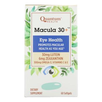 Quantum Research - Macula 30 Eye Health - 1 Each - 60 Sgel