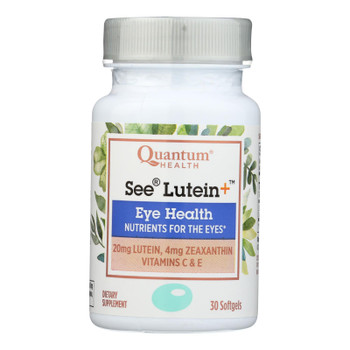 Quantum Research - See Lutein Eye Health - 1 Each - 30 Sgel