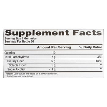 Nutrition Now - Fiber Gummies 5 Grms - 1 Each - 60 Ct